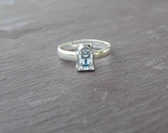 Cute Little R2D2 Star wars Ring