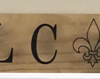 Custom Wood Welcome Sign, Home Decor, Wall Art, Housewarming Gift, Wedding Gift