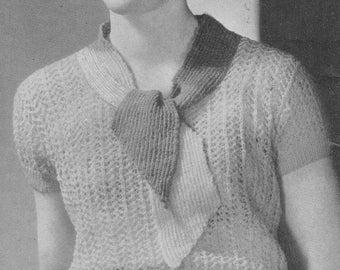1934 Ladies Blouse
