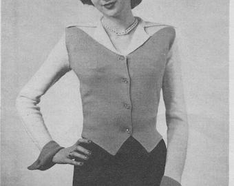 1948 Weskit Blouse