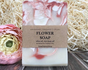 Woman soap Woman gift Mom gifts Gentle soap Natural Soap Homemade Organic Soap Bar Olive oil soaps Cold process soap Skin care Artisan soap