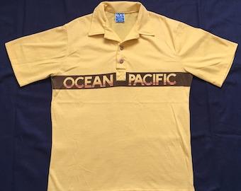 Vintage Ocean Pacific shirt-Op-surfer-skater