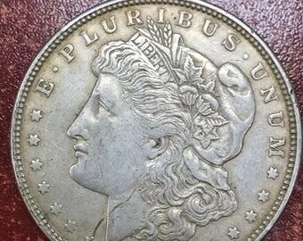 1921 Morgan Silver Dollar Coin -M151-