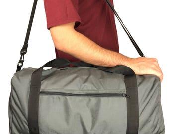 "Medium 22"" Rectangular Duffel bag with 1000 Denier Cordura Nylon (Handmade In California)"