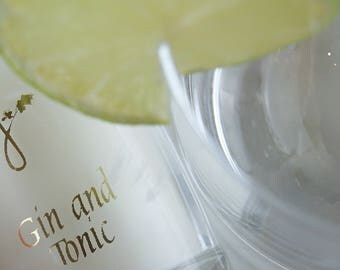 Gin and Tonic Candle - Natural Scented Candle