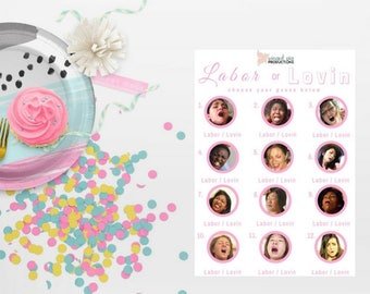 Labor or Lovin (Pink) Baby Shower Game