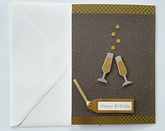 Birthday Bubbly Card