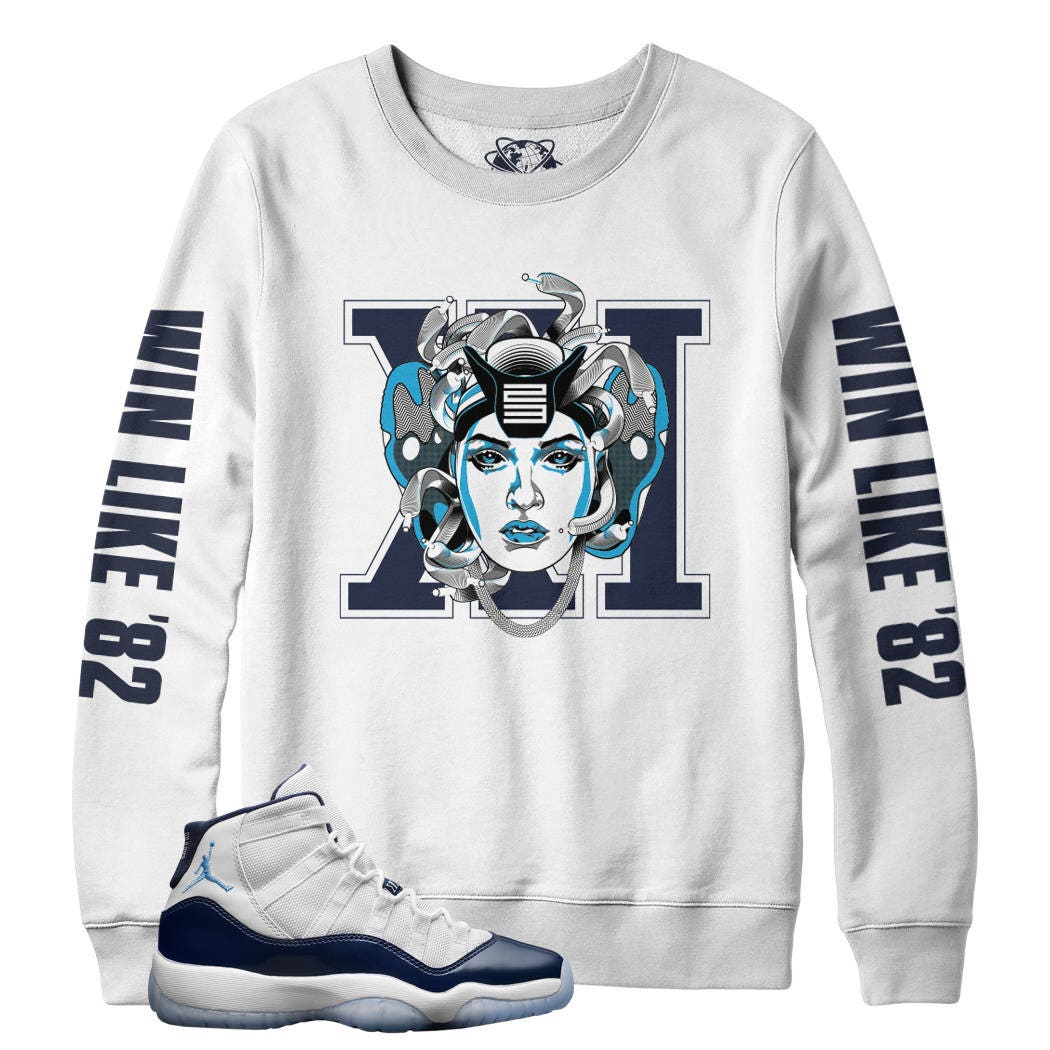 fca55c3d7f6 Sweat Shirt to match the Jordan 11 Jordan 11 win like 96 hooded sweater to  match retro 11 gym red shoes.