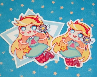 Star Butterfly Vinyl Sticker