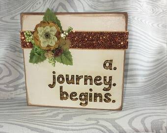 Photo Block 'A Journey Begins'