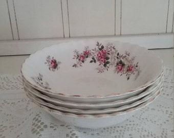 Royal Albert Lavender Rose Bowls Set of 4