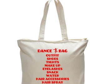 DANCE BAG, Dance Competition Tote, Dancer Bag, Gift for Dancer, Ballet Bag, Dance Competition Bag, Dancer Gift, Gift For Her, Dance Mom
