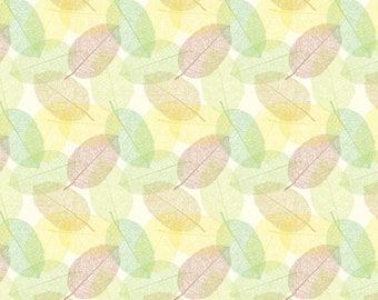 """Leaves Kraft Design Paper, 8.5""""x11"""", 25/PK"""
