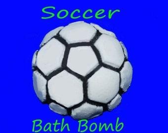 Free Shipping Soccer Bath Bomb, bathbomb, soccer, bath bomb, boys, kids, children, bath bomb for kids, kids bath bomb, kids bathbomb