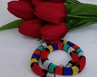 Authentic Red Necklace