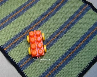 Crochet Street Play Mat and Blanket