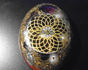 Gemstone pendant, Orgonpendant, radiation protection, unique, Valentine's Day