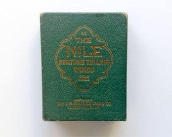 Rare - The Nile Fortune Telling Cards - 1904 - U.S. Playing Card Company - Rare Antique Cards