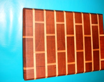 MAHOGONY CUTTING BOARD