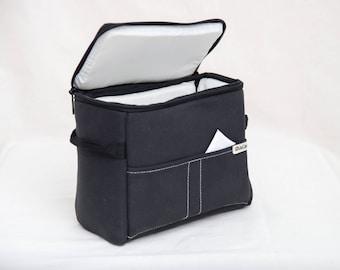 NEW! Shockproof Camera Case - DSLR Camera Bag - Protection Case - Photo Bag Insert - JuCase Black/White