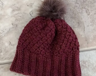 Crocheted Hat // Baby Hat // Winter Hat // Baby Gift