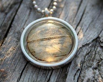 Birch Pendant Necklace