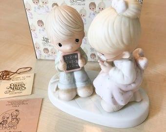 Vintage Precious Moments Love Is Patient Figurine E-9251