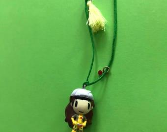 Tokidoki Marvel Frenzies Rogue Necklace