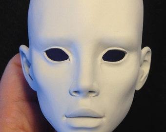 Cilene BJD SD limited edition artist doll resin head 20 units
