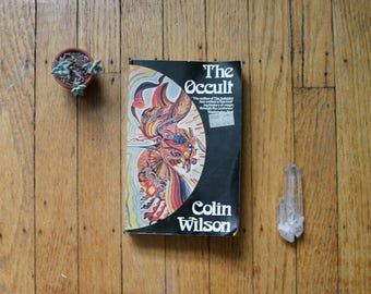 The Occult by Colin Wilson, 1973 Vintage Book, Magic, History, Witchcraft