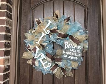 LIVE Wreath by Miss Mazie