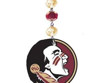 FLORIDA STATE University *Logo* MAGNETIC Ornament, Fsu Home Decor,Seminoles Gifts,Noles,Fsu Ornament,Fsu gift,Florida state,