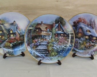 Your Choice of Decorative Collector Plates by Andres Orpinas (2 of 2 Listings) Limited Edition Royal Doulton Fine Bone China Franklin Mint