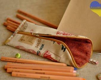 Pen Pouch, Cool Pencil Case, Kids Pencil Pouch, Colorful Pencil Case,  Simple Pencil Case, Funny Pouch,  Pencil Case for Her, Pencil Pouch