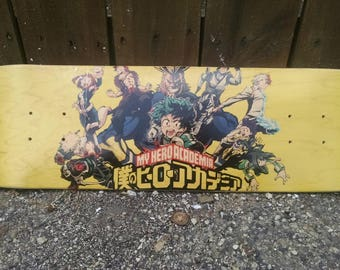 My Hero Academia Skateboard Deck