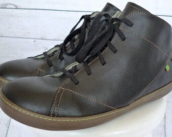 EL NATURALiSTA LEATHER Meteo Chukka ANKLE Boots Shoes N212 Black 45 Eu/11-11.5 M Us