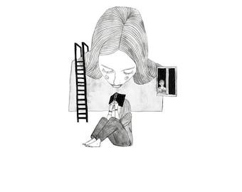reader | printed illustration