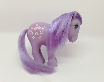 "My Little Pony MLP G1 vintage ""Blossom"" , made in Italy 1982, collector ponies, year 1"
