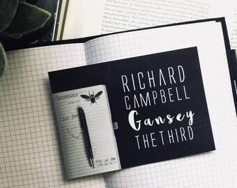Gansey Postcard Raven Cycle
