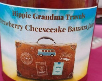 Handmade Strawberry Cheesecake Banana Jam