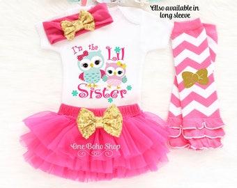 Little Sister Gift, Little Sister Coming Home Outfit, Little Sister Big Sister Outfits, Little Sister Oufit, Little Sister Bodysuit LS6HP
