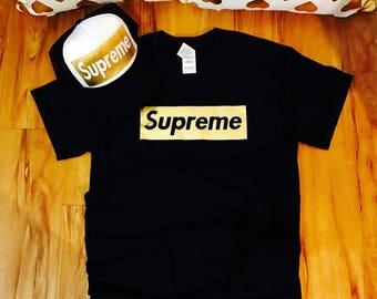 Supreme shirt, supreme box logo shirt, logo in a box, supreme box logo, supreme, supreme clothing, hype clothing, hype beast, supreme hat