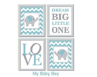 Nursery - Baby Boy Cross Stitch Chart
