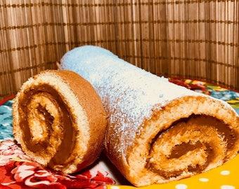 Pionono (Peruvian Manjar Blanco Roll)