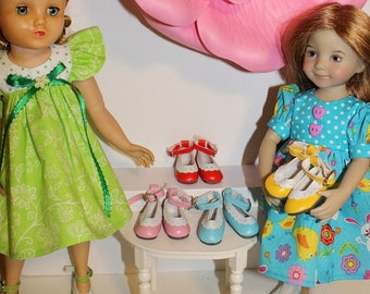 "1 Pair of Shoes that fit dolls the same size as the 15"" Elise Ballerina with the JOINTED ankle, 13"" Little Darling and 14"" Mini-Maru dolls"