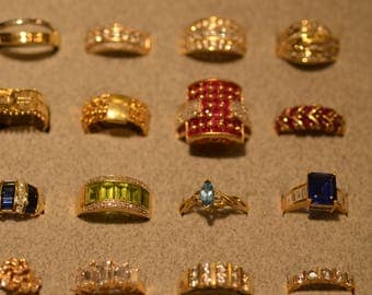 14k GOLD RINGS-Many to Choose from. Wholesale to the Public **Prices Vary**