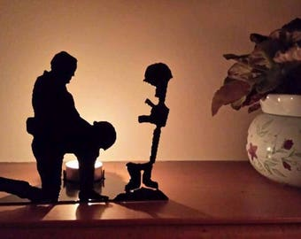Fallen Soldier, Tea light holder