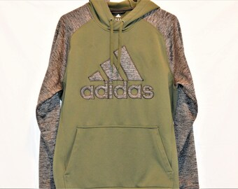 China Adidas Climawarm Hoodie With Kangaroo Pocket 100% Polyester Vintage Sportswear Size Medium Men's Clothing ChooseFlavor