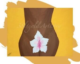 Bloom (Feminist Vagina Labia Vulva Yoni Art)