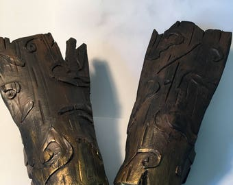Woodland creature armor bracers